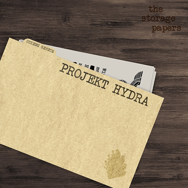 Projekt Hydra - The Storage Papers podcast episode art