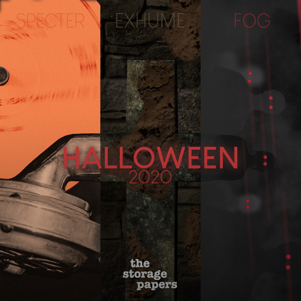 Halloween 2020 Episode Artwork for The Storage Papers
