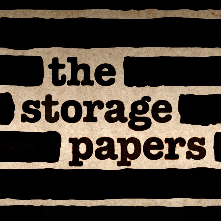The Storage Papers Teaser 1